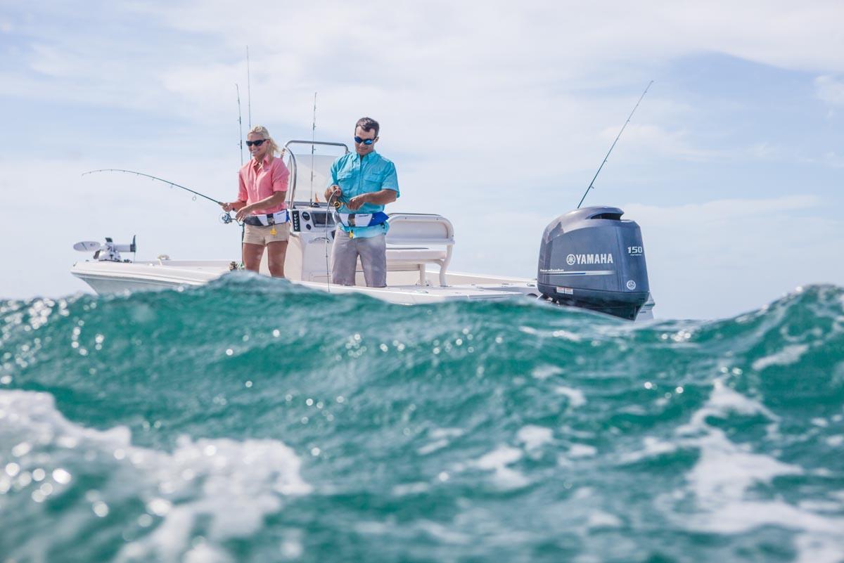rough water fishing