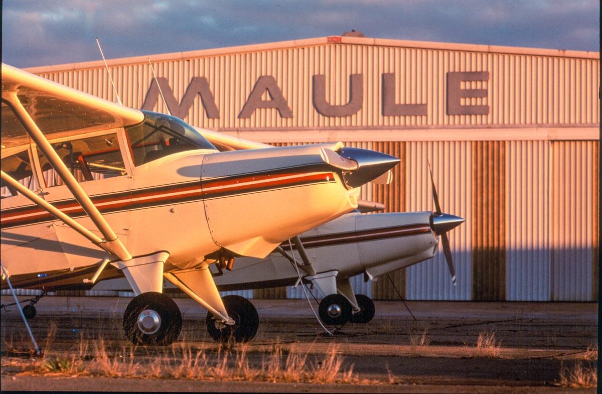maule hangar