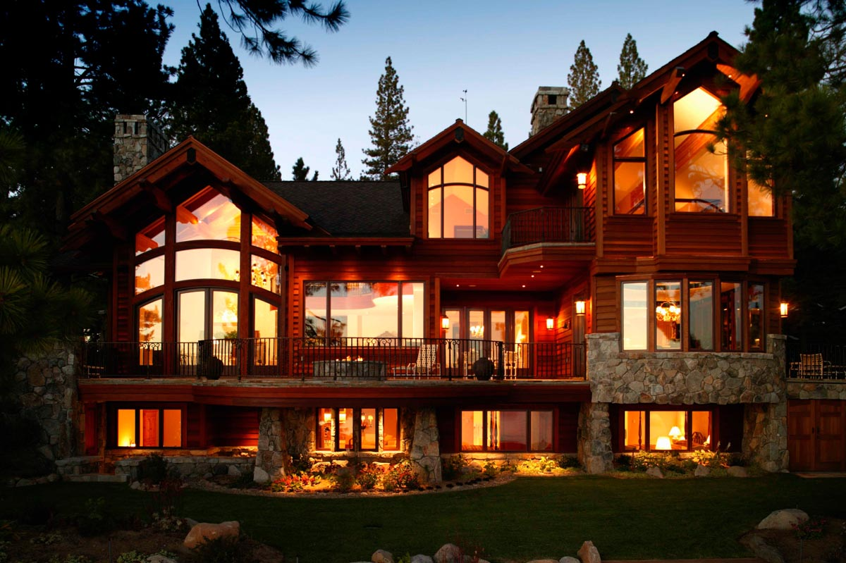 tahoe home exterior photograpraphy